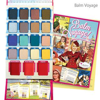 the Balm|Balm Voyage Face Palette(バームボヤージ フェイス パレット フェイスパレット) (342901)