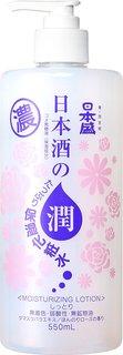 日本盛 日本酒のたっぷり保湿化粧水 しっとり 550ml (359583)