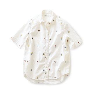 サニークラウズ やっぱり屋台が好きシャツ〈レディース〉|フェリシモ (377464)