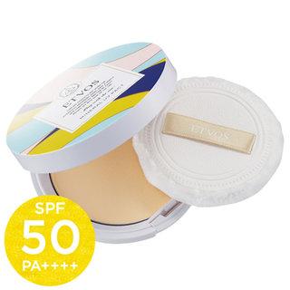 素肌をキレイに見せながらロングUVAからもお肌を守る、持ち運びに便利なプレストタイプ「ミネラルUVパクト/SPF50 PA++++」 (378135)