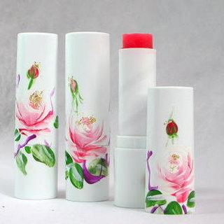 バラの香りのリップバーム・スティックタイプ  - 天然ローズの香水専門店 ダマスクローズ・吉岡アロマ工房 (381808)
