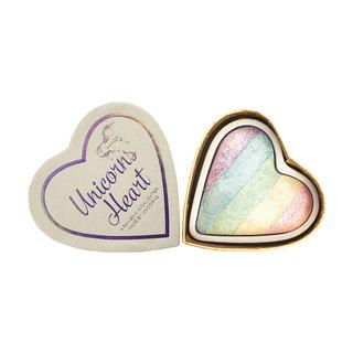 ブラッシングハート ハートハイライター ユニコーンハート(Hearts Highlighter Unicorns Heart) アイラブメイクアップ Makeup Revolution (391062)