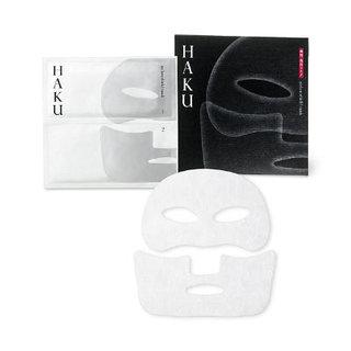 LOHACO - HAKU メラノシールド マスク 30mL×1袋(上用・下用各1枚入) 資生堂 (392880)