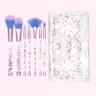 Aquarium Liquid Glitter Makeup Brushes | Vegan & Cruelty Free - Lime Crime (394532)