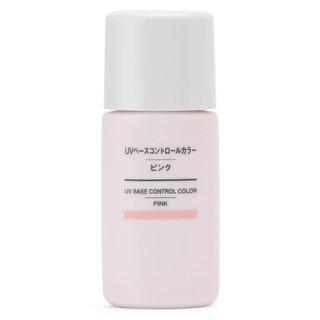 UVベースコントロールカラー・ピンク SPF50+・PA+++ 30mL | 無印良品ネットストア (401814)