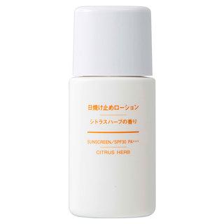 日焼け止めローション・シトラスハーブの香り SPF30・PA+++ 30mL (406508)