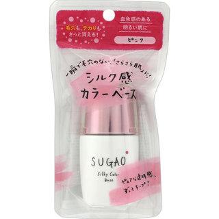 SUGAO シルク感カラーベース ピンク (427341)