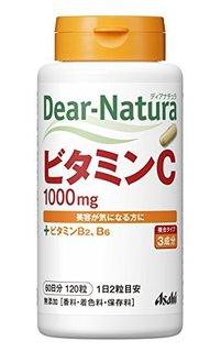 Amazon | アサヒグループ食品 ディアナチュラ ビタミンC 60日分(120粒) (459494)