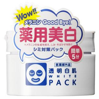 透明白肌(トウメイシロハダ) 薬用ホワイトパック (460588)