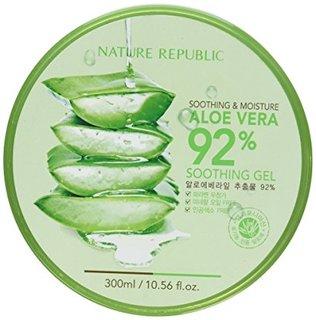 【NATURE REPUBLIC】 ネーチャーリパブリック スージング&モイスチャー アロエベラ92%スージングジェル (469481)