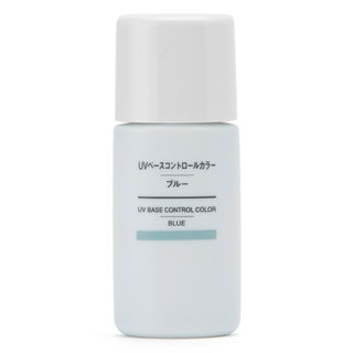 UVベースコントロールカラー・ブルー SPF50+・PA+++ 無印良品 (472274)