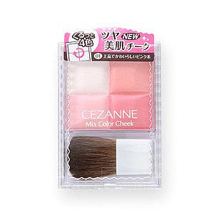 セザンヌ ミックスカラーチーク 01 ピンク系 (482672)