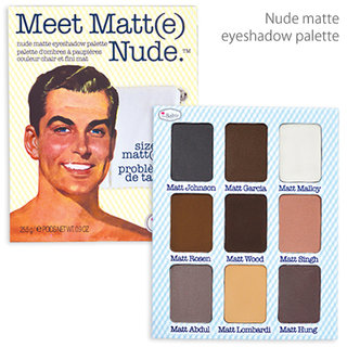 the Balm Meet Matt(e) Nude Eyeshadow (497729)