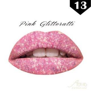 【Lips Sticker】リップタトゥーシール/唇タトゥー【ピンクグリッター Pink Glitteratti(13)】   aoyiro (507340)