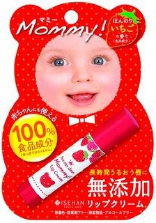マミーリップクリームS 3.5g ほんのりいちごの香り | マミー (セール価格) (510186)