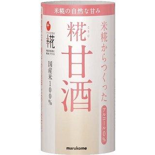 マルコメ プラス糀 米糀からつくった糀甘酒 125ml×18本 (513210)