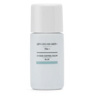 UVベースコントロールカラー・ブルー 無印良品 (522277)