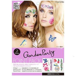 PureSmile(ピュアスマイル)『ART POINT PACK / アートポイントパック(2枚入り)』(GARDEN PARTY/ローズの香り) (523037)
