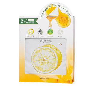 ベジマスクsスペシャルセット 4枚入り | VECUA Honey(ベキュアハニー) (539967)