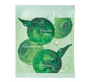 とろとろふんわりクリームバスグリーン柚子 | VECUA Honey(ベキュアハニー) (540100)