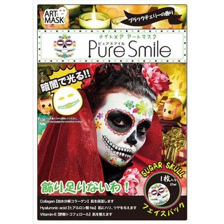 特殊メイクアートマスク シュガースカル ピュアスマイル (540232)