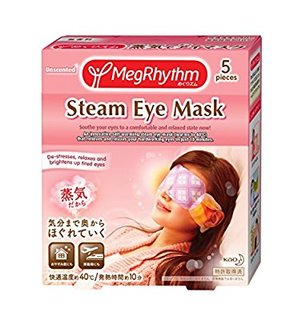めぐりズム 蒸気でホットアイマスク 無香料 5枚入 (545682)
