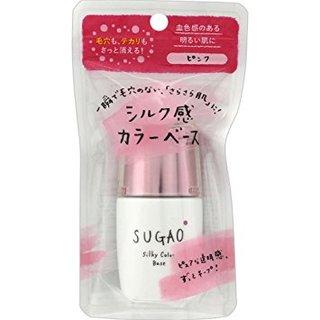 Amazon | SUGAO シルク感カラーベース ピンク | スガオ(SUGAO) | (554806)