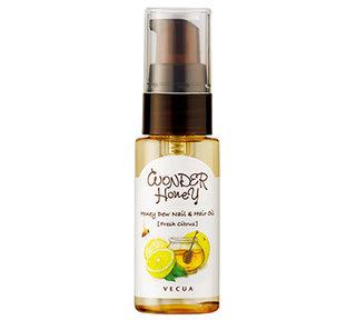 指先と髪先のための蜜オイルフレッシュシトラス 20mL | VECUA Honey (558186)
