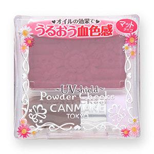 パウダーチークス PW38 プラムピンク┃ キャンメイク(CANMAKE) (568970)