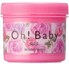 Oh!Baby ボディ スムーザー LR n(ラ・ローゼの香り)350g  ハウスオブローゼ (571854)