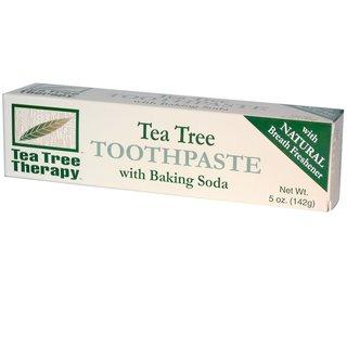 ティーツリー歯磨き粉、 重曹入り (142 g) (576126)
