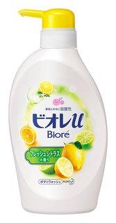 ビオレu フレッシュシトラスの香り ポンプ480ml (578338)