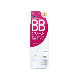 ちふれ化粧品 BB クリーム 1 自然な普通肌色 BBクリーム (578444)