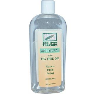 Tea Tree Therapy マウスウォッシュ ティーツリーオイル配合 (354 ml) (578508)