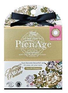 ピエナージュ PienAge (1箱12枚入)、ワンデー 度あり 度なし (579169)