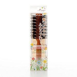マペペ ふんわり天然毛のミックスロールブラシ (581732)