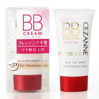 BBクリーム パール入り P2 ナチュラルなオークル |セザンヌ(CEZANNE) (587415)