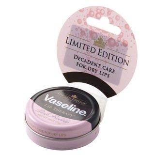 ヴァセリン Vaseline リップセラピー スパークリングPINK缶 (596945)