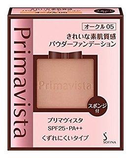 プリマヴィスタ きれいな素肌質感パウダーファンデーション オークル05 SPF25 PA++ 9g (604692)