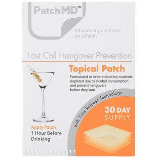ハングオーバー【二日酔い予防】−パッチMD(Patch MD) (604863)