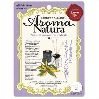 アロマナチュラ フェイスマスク イランイランの香り (610426)