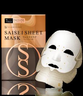 SAISEIシート マスク [フェイスライン用] 7days 2sheets フローフシ (610471)