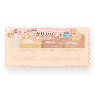 【限定】キャンメイク カラーミキシングコンシーラー C12 イエロー&オレンジベージュ (616009)
