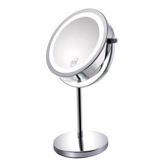 Gospire LED卓上化粧鏡 メイクアップミラー (617632)