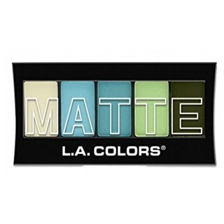 L.A. Colors Matte Eyeshadow Teal Argle (617851)