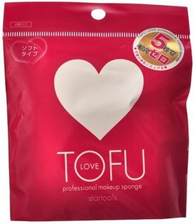 TOFU LOVE プロフェッショナルメイクアップスポンジ (621117)