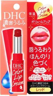 DHC 濃密うるみ カラーリップクリーム レッド(セール価格) (627823)