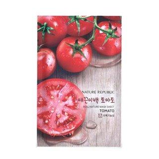 リアル ネイチャー トマト マスク シート (5枚)    ネイチャーリパブリック (635008)