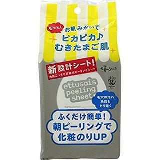 シート状除去化粧水 ふきとりピーリングシートN 45枚入 | エテュセ(Ettusais) (635038)