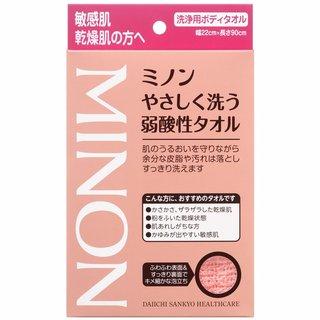 やさしく洗う弱酸性タオル 1枚入   MINON(ミノン) (639741)